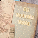 Personalised 'My Travel Book' Journal