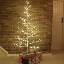 White Twig LED Christmas Tree