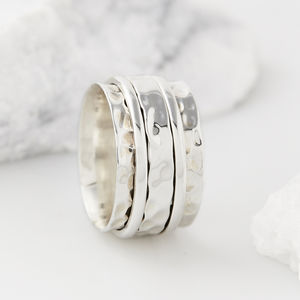 Men's Karma Abundance Spinning Ring - rings