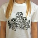 Colour In Childrens Russian Doll T Shirt