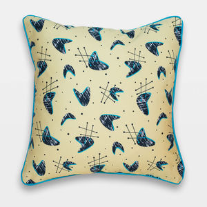 Midcentury Inspired Cushion 'Atomic Blonde' Design
