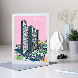Balfron Tower Architectural Card