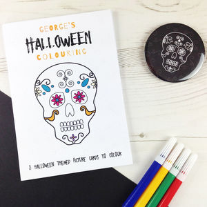 Halloween Colouring Pictures - books