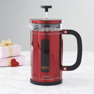 Personalised Proposal Cafetiere - cafetieres & coffee pots