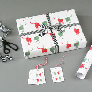 Reindeer Christmas Wrapping Paper