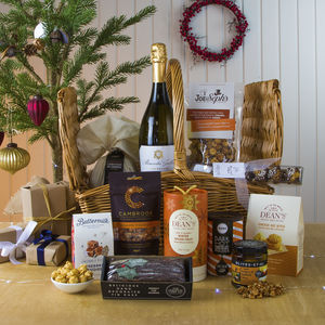 Prosecco Picnic Christmas Hamper - food hampers