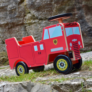 Fire Engine Ride On Toy