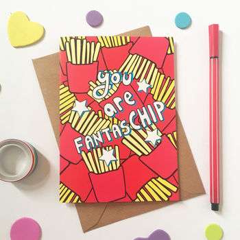 Just Because Chips Card
