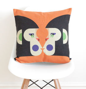 Geometric Monkeys Cushion Cover - patterned cushions