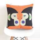 Geometric Monkeys Cushion Cover
