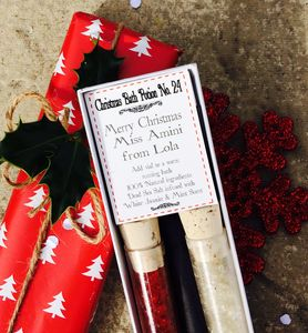 Christmas Bath Potion Gift Set - gift sets