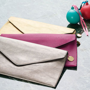 Personalised Clutch Bag - 30th birthday gifts