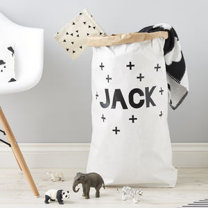 Personalised Plus Children's Storage Sack - storage & organisers