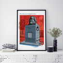 Marx Monument London A3 Print