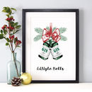'Gingle Bells' Gin Christmas Print
