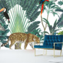 Royal Jungle Self Adhesive Mural