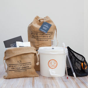 Craft Beer Brewing Starter Kit - foodies