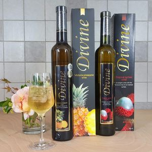 Divine Lychee And Pineapple Combo - wines, beers & spirits
