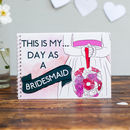 Bridesmaid Wedding Activity And Keepsake Book