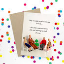 Funny Friends Greeting Card