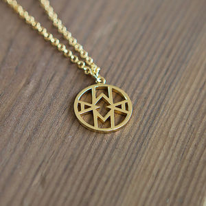 Geometric Mama Necklace - gifts for her