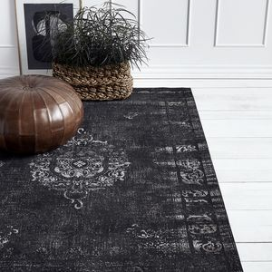 Grand Dark Grey/Black Rug