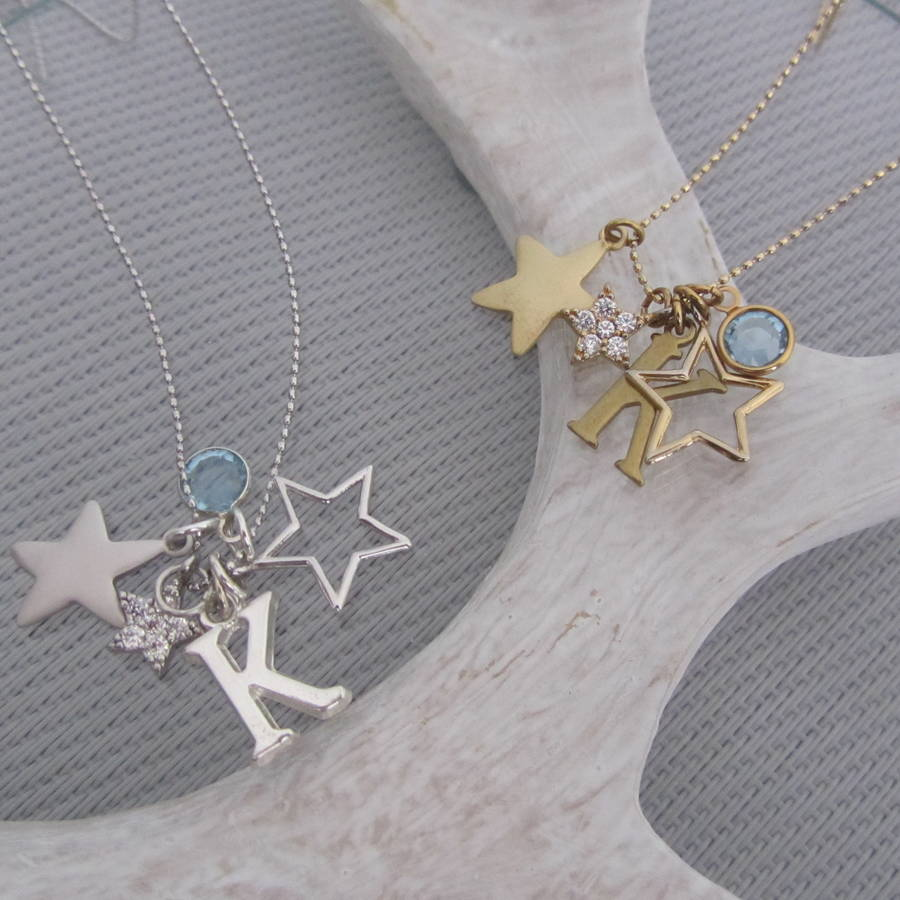 Star Necklace Personalised Gift For Her
