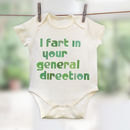 'I Fart In Your General Direction' Film Quote Babygrow
