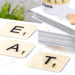 Official Scrabble Coasters
