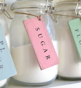 Personalised Storage Tags - jars