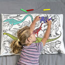 Colour In Pillowcase Dinosaurs