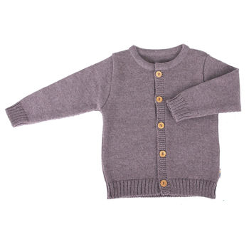 Children's 100% Merino Wool Cardigan