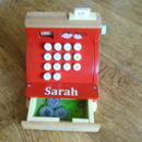 Personalised Wooden Cash Register