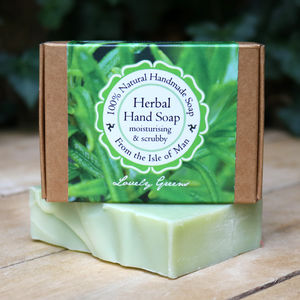 Handmade Palm Oil Free Rosemary Herbal Hand Soap