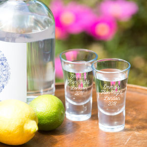 Personalised Shot Glass - glassware