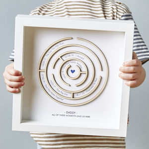 Personalised Wooden Maze Print - our top new picks