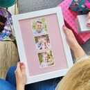 Personalised Colour Photo Gift Memories For Her