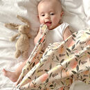 Forest Natural Organic Baby Swaddle Blanket