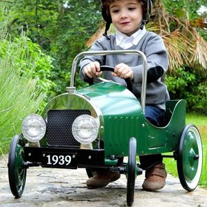 Vintage Pedal Car: 3rd Birthday Gift - gifts for children