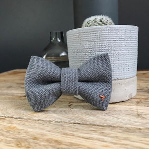 Soho Cotton Dog Bowtie - dogs