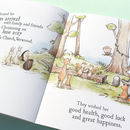 Bunny, Squirrel and Hedgehog Adventure Kids book