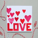 Love Valentines Anniversary Greetings Card