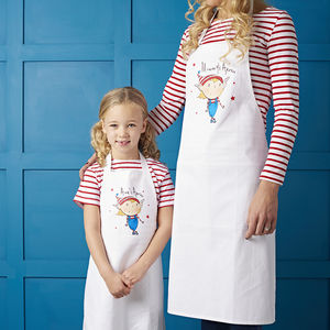 Personalised Magic Is Real Apron Set - gifts for mothers