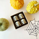 Mini White And Dark Chocolate Skulls