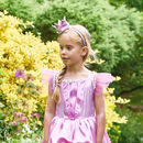 Fairytale Princess Dress With Crown Costume