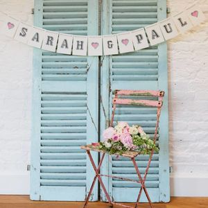 Personalised Bunting - room decorations