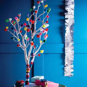 Pom Pom Christmas Tree - christmas trees