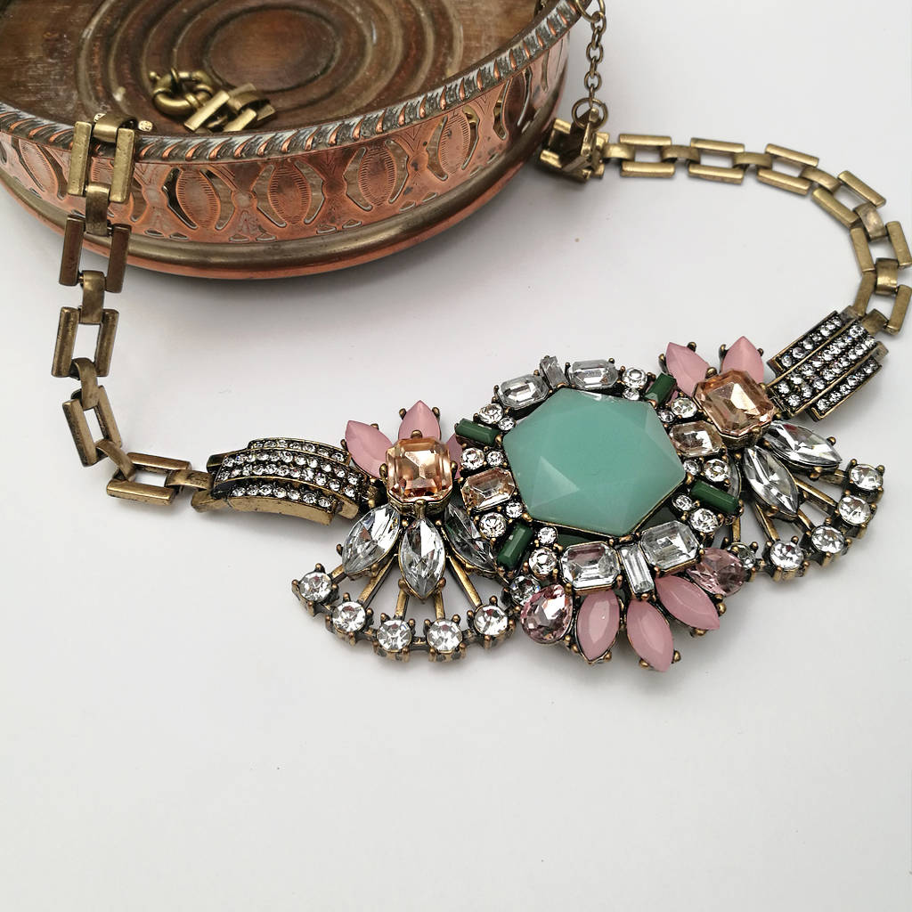 statement happiness boutique necklace en necklaces gypsy