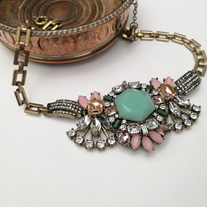Pastel Vintage Statement Necklace - new in jewellery