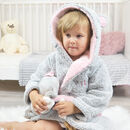 Personalised Mause Hooded Kids Robe